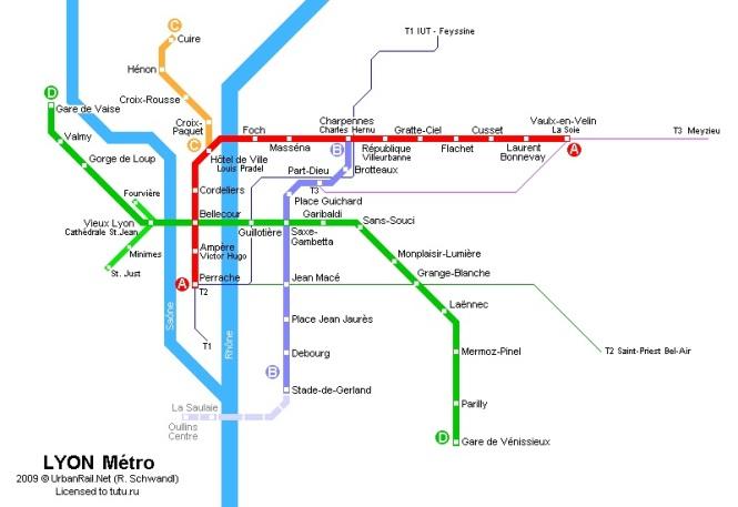 Лионский метрополитен - система скоростного общественного транспорта французского города Лиона.