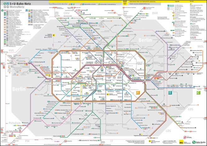 Bvg berlin map.